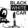 Black White Car