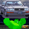 Hulk's Car Demolition
