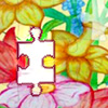 Jigsaw Puzzle with Flowers