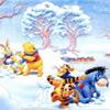 Winnie the Pooh: Snowball Fight Jigsaw
